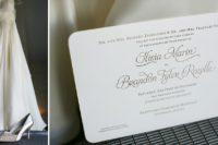 Sactuary Resort wedding invitation