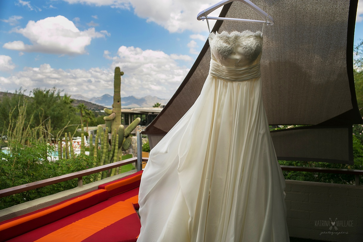 Sanctuary Resort wedding dress