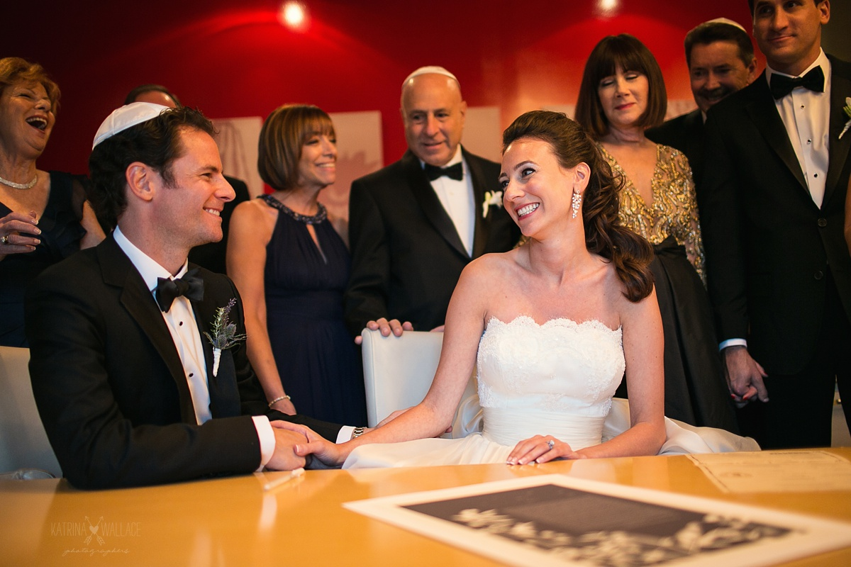 Ketubah signing at Sanctuary Resort