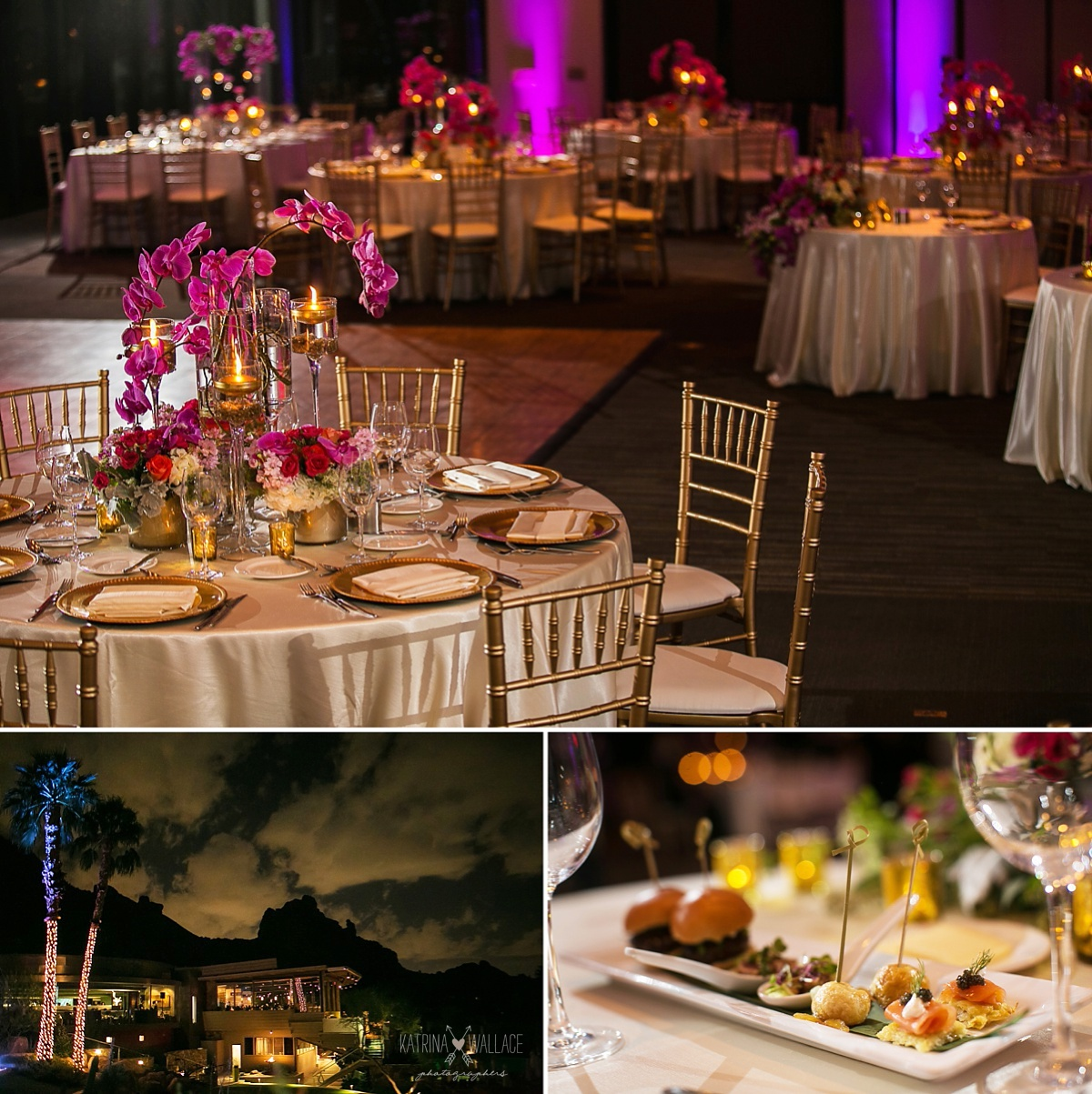 Sanctuary on Camelback wedding reception