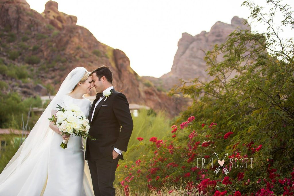 Sanctuary wedding preparation Paradise Valley