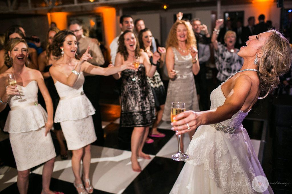 El Chorro reception bridesmaids