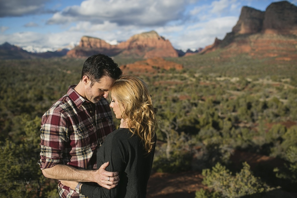 Bell Rock Sedona engagement photography